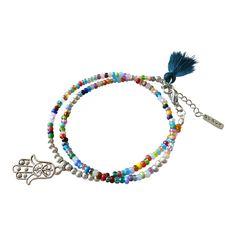 Bracelet mixt colors www.villavica.nl #Livia #gypsy #hippie #bohostyle #bohémien #gypsy #ibiza #handmade