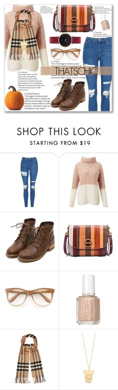 """Holiday Style: Cozy Chic"" by sandrapopescu on Polyvore featuring Topshop, Miss Selfridge, Tory Burch, Wildfox, Burberry, Gorjana, Abbott Lyon and cozychic"
