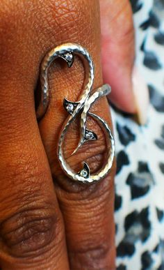 Rose thorns can be beautiful in their own right. This ring is a symbol of strength and victory in life's hard fought battles.