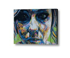 canvas Size: 70x50 cm #streetart #graffiti #print #art #canvas #design #gallery #painting #home #inspiration #girl