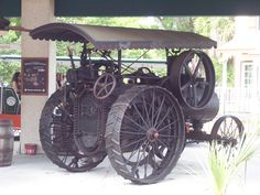 Old tractor in St. Augustine, FL