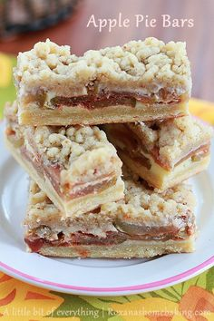 Apple Pie Bars...looking for the best one.