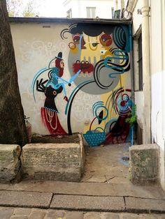 Reka Street Art in Paris, France - StreetArt101