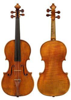 #AntonioStradivari (1644-1737) - #Violin *Cobbett* - Cremona (1683) - Higgin Kim