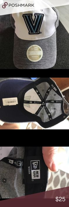 New Era Women's Hat New Era adjustable women's hat. Brand new with stickers never been worn. Villanova Wildcats New Era Accessories Hats