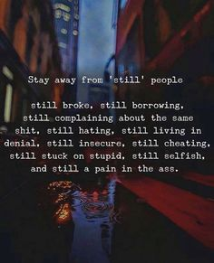 Stay away from still people.. via (http://ift.tt/2EkJFPo)