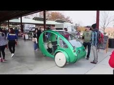 Not a car or bicycle, but a blend—an ELF vehicle
