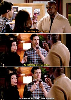 """Literally Just 21 Fucking Funny Things From """"Brooklyn Nine-Nine"""" Brooklyn 9, Brooklyn Nine Nine Funny, Sex And Love, My Love, Obsessed Girlfriend, Jake Peralta, Andy Samberg, Tv Show Quotes, Great Hair"""