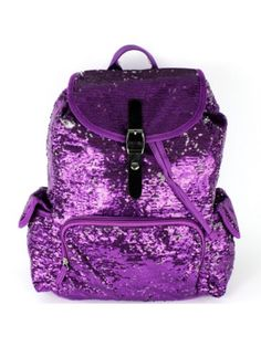 Purple Bling Bling Backpack #SQB2929-PURP | Wholesale Accessory Market