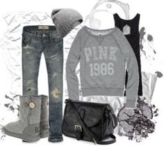 Comfy outfit for winter days
