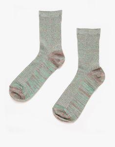 Crew Socks in Oxidized