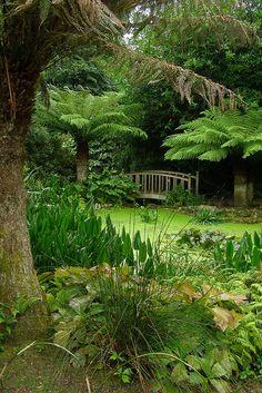 Trengwainton Gardens in Cornwall, England