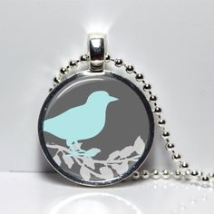 285. Modern Birds Hand Crafted Pendant- Autumn 2015