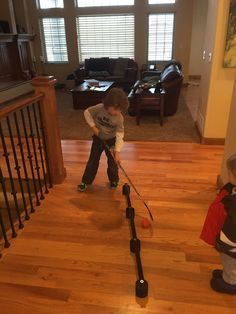 DIY Hockey Stick Handling Trainer : More Well I had about 15 minutes of spare time so i decided to do something productive. As you all know my son and his friends love to play hockey. They play on ice, in hallways, driveways, patios, hote… Hockey Drills, Hockey Tournaments, Hockey Games, Hockey Players, Hockey Workouts, Hockey Goalie, Youth Hockey, Hockey Mom, Field Hockey