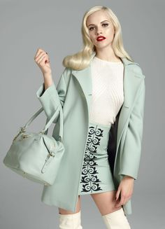Versace f/w 2012-13 collection Ginta Lapina