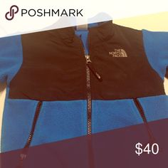 North face jacket Size 4t north face jacket blue and black The North Face Jackets & Coats