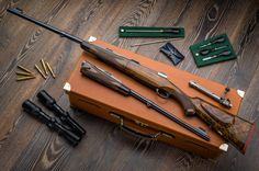 Westley Richards Take Down Rifle 300 & 375 H&H