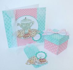 craft yourself happy with this fab free card, tag and box download from Crafters Companion.and Mum in the Mad House