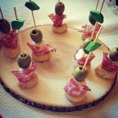 Antipasto, Terra, Street Food, Finger Foods, Birthday Candles, Salt, Appetizers, Party Ideas, Bathroom