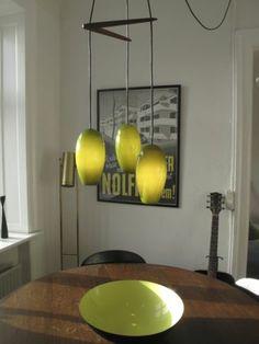 63´ Life Trio Hammerborg Fog Morup Mid Century Modern Holmegaard Glass RARE | $925