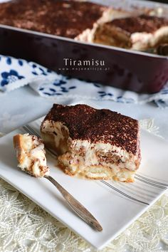 Tiramisu, Baking, Cake, Ethnic Recipes, Food, Mascarpone, Bakken, Kuchen, Essen