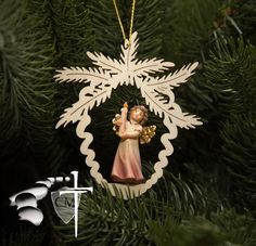 Light of the world Angel Ornament