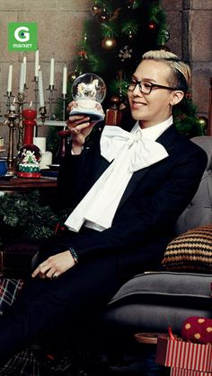 G-Dragon ♡ #BIGBANG // Gmarket 'Christmas Wish List' CFs 2013