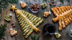 Jistě, listové těsto není žádnou perlou vysoké gastronomie, ale co si budeme povídat, když nějakou dobrotu zněj postavíte před návštěvu (nebo sami před sebe), zpravidla téměř okamžitě zmizí. Tak co zkusit jednoduchý stromeček spestem? Na Vánoce je jako dělaný astačí vám na něj jen 3 suroviny! Savoury Baking, Food Inspiration, Nutella, Pesto, Christmas, Diet, Fine Dining, Xmas, Navidad