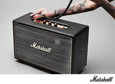 The Marshall Hanwell is an innovative, powerful speaker that embodies Marshalls legacy of loud. Delivering a sound that resonates with the presence and power of live music, this speaker box is a carefully crafted machine, designed to attain that trademark Marshall Tone. More Info / Available here: http://www.recordcase.de/cgi-bin/shop/lshop.cgi?pid=Google-Ehlen=suche=marshall=en