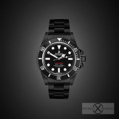 BLACK-OUT ROLEX RED SUBMARINER by PROJECT X