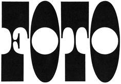 Italian typography, 1960s