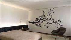 Tree and Love birds, vinyl decal