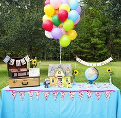 i have absolutely no reason to ever do this, but how CUTE is this?! UP-themed party.