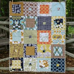 modern quilt.1 - Click image to find more DIY & Crafts Pinterest pins