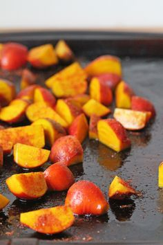 Spicy Roasted Golden Beets - Could add more seasoning to these. Shred some gruyere cheese over the beets before eating.