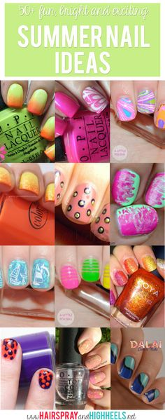 50+ Summer Nail Ideas