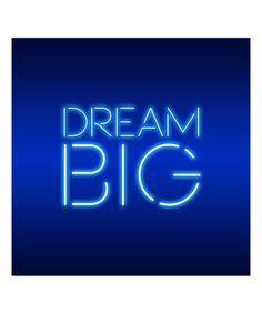 Look at this #zulilyfind! 'Dream Big' Wrapped Canvas by Salty & Sweet #zulilyfinds