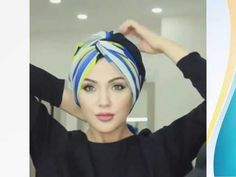 Thousands of hijab style are here for you take advantage of, turban style hijab is one of the newest inventions in the world of hijab. Check out some of the amazing turban hijab styles of Tutorial Hijab Pashmina, Turban Tutorial, Hijab Style Tutorial, Hijab Turban Style, Mode Turban, Hair Wrap Scarf, Scarf Knots, Moda Paris, Scarf Hairstyles