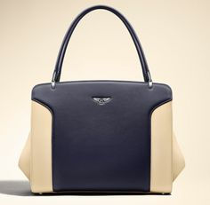 509390421d Cream and Black Bentley Bag www.thewarrantyco.com