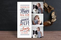 Elated New Year's Photo Cards by Sarah Brown at minted.com