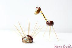 Kastanientiere sind langweilig? Hier findet ihr die schönsten einfachen Ideen zum Basteln, Malen und Spielen mit Kastanien für Kinder!!!
