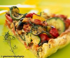 Ce midi, je me prépare une tarte à la ratatouille et au beurre de basilic (pour le plaisir, mais avec modération ;) ) => http://ow.ly/3F7O304BgGO