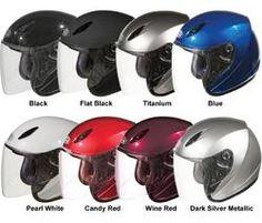 GMAX - GM17 Open Face Motorcycle/Scooter Helmet