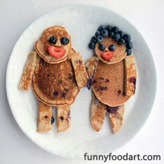 Gallery « Funny Food Art - Just love these to give the kitchen a fun vibe focussed on family and food.