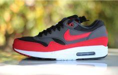 Definite cop..Nike Air Max 1 Anthracite/Red