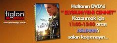 Tiglon'dan Elysium:Yeni Cennet filminin DVD'sini kazanmak için hafta sonu 11:00-15:00 arası Aslıhan'ı dinleyin...