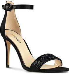 Main Image - Nine West 'Mana' Ankle Strap Sandal (Women)