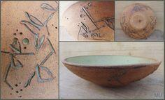 Del otoño caen las flores MU Bol cerámico en gres con esmaltes aceituna de inspiración japonesa Ceramic MU