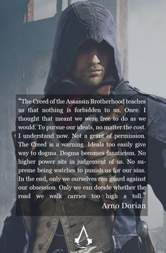 Arno Dorian's Quote