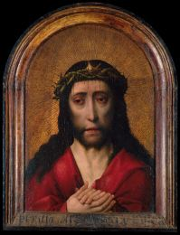 """Dirk Bouts (follower of) , """"Christ Crowned with Thorns"""""""
